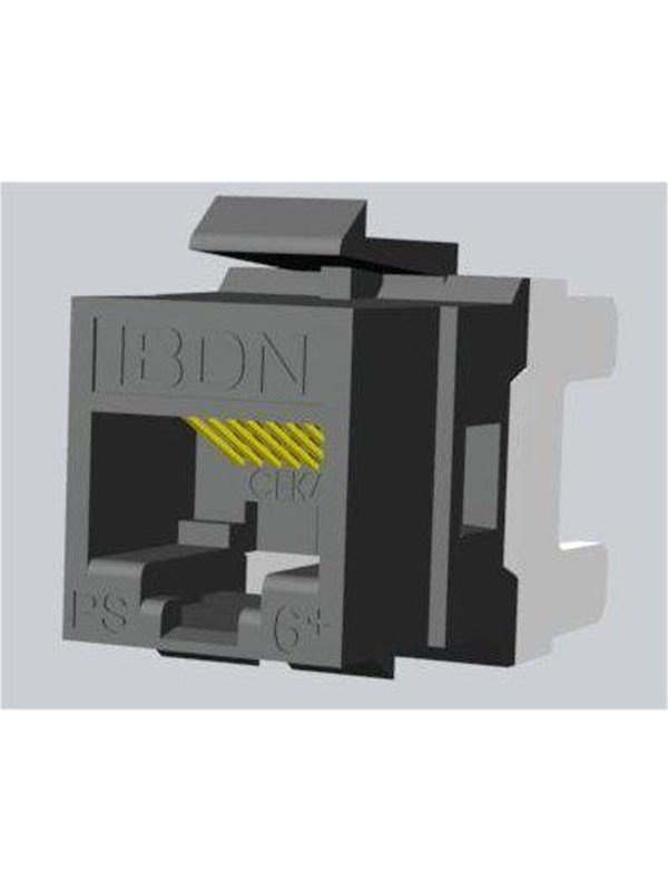 Image of   Belden Gigaflex keystone ps6 bk 8pins non-k