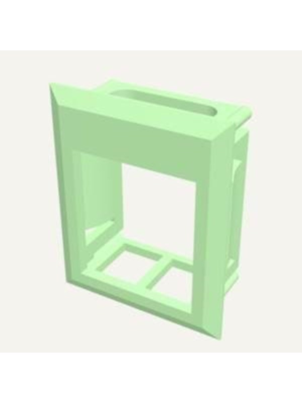 Image of   Belden Color frame for keystone green