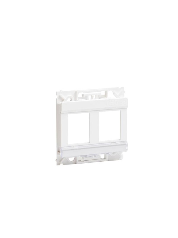 Image of   Belden Outlet 2xrj45 white cdt design o