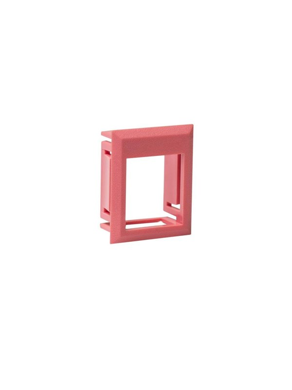 Image of   Leviton Insert frame leviton (brand-rex) keystone red for
