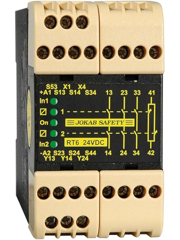 Image of   Jokab Safety Safety relay rt6 24dc