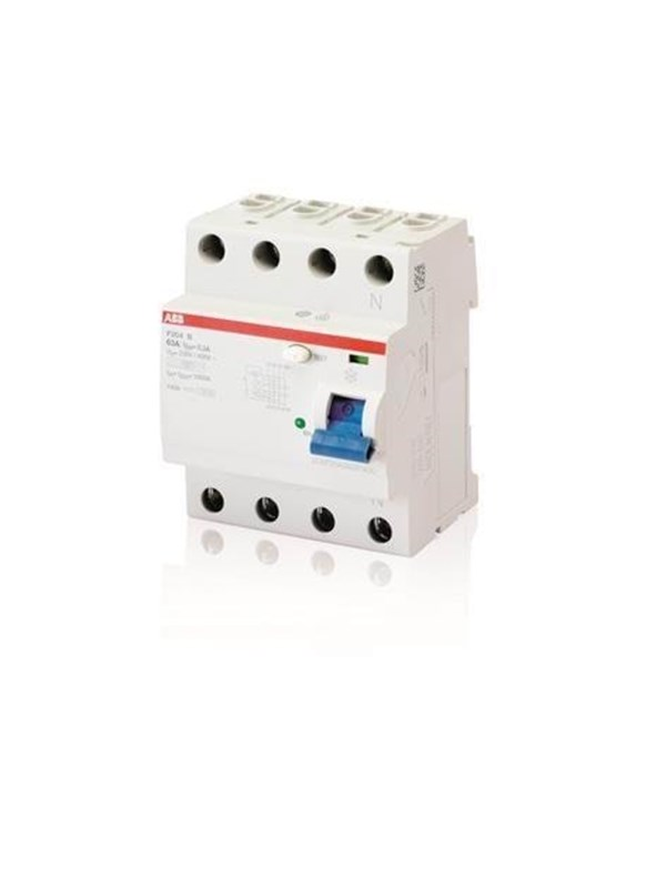 Image of   ABB F204 b-63/0.3 residual current device