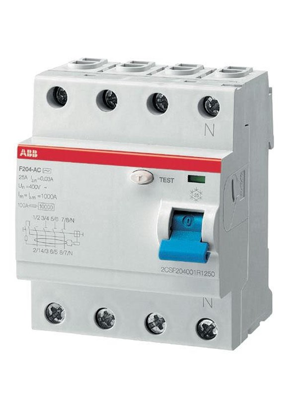 Image of   ABB F204 a-40/0.03 residual current device