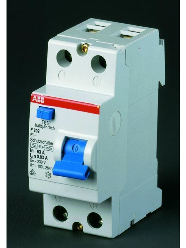 Image of   ABB F202 a-40/0.3 residual current device