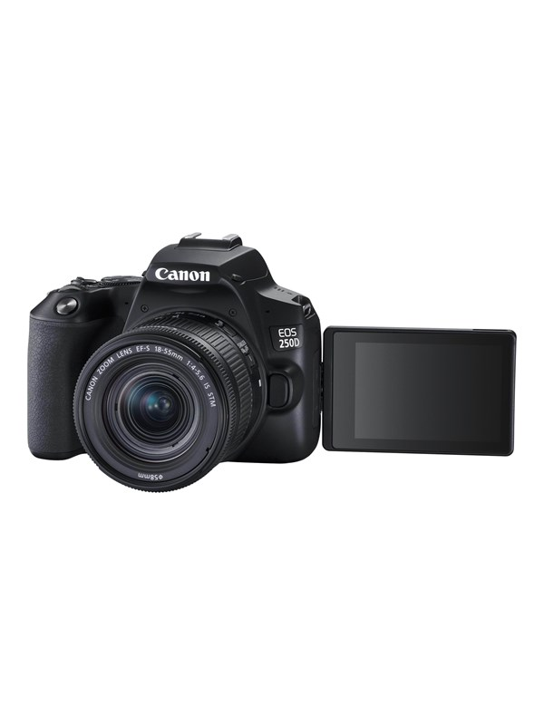 Image of   Canon EOS 250D 18-55mm IS STM + 50mm - Black