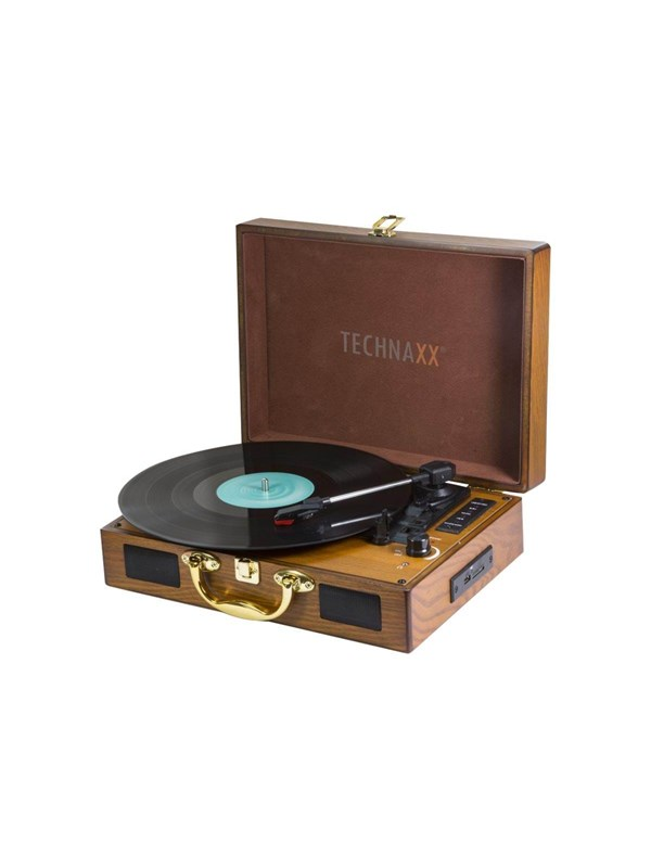 Image of   TECHNAXX TX-101 - turntable with digital recorder Pladespiller - Brun