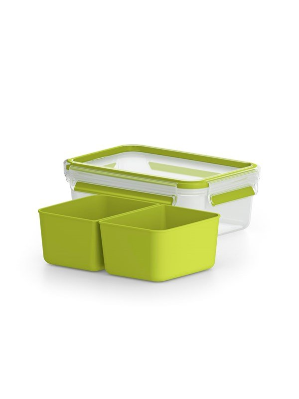 Tefal MasterSeal TO GO snack 1.0L inserts