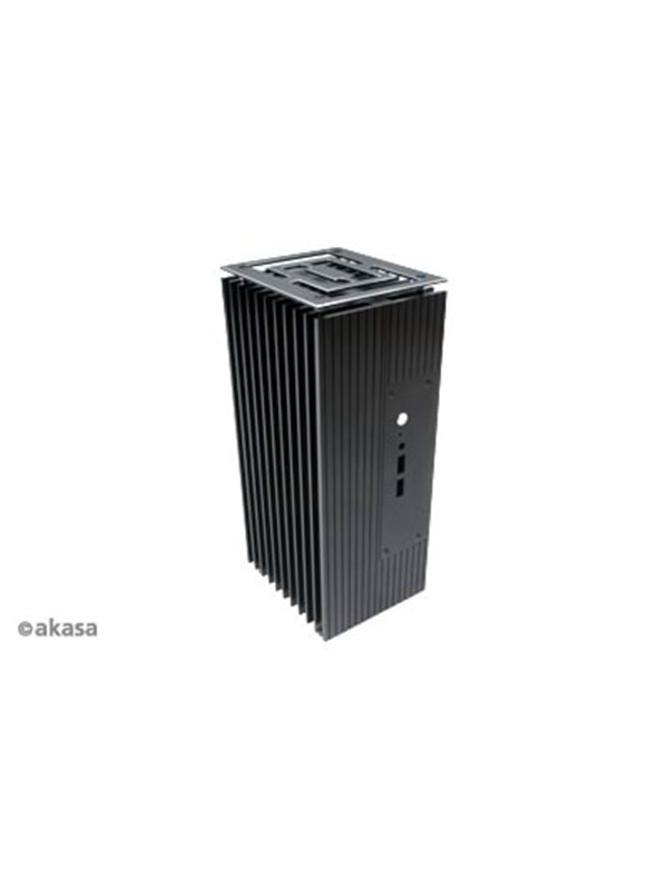 Image of   Akasa Intel NUC Case Turing Fanless Support 2.5' - Kabinet -