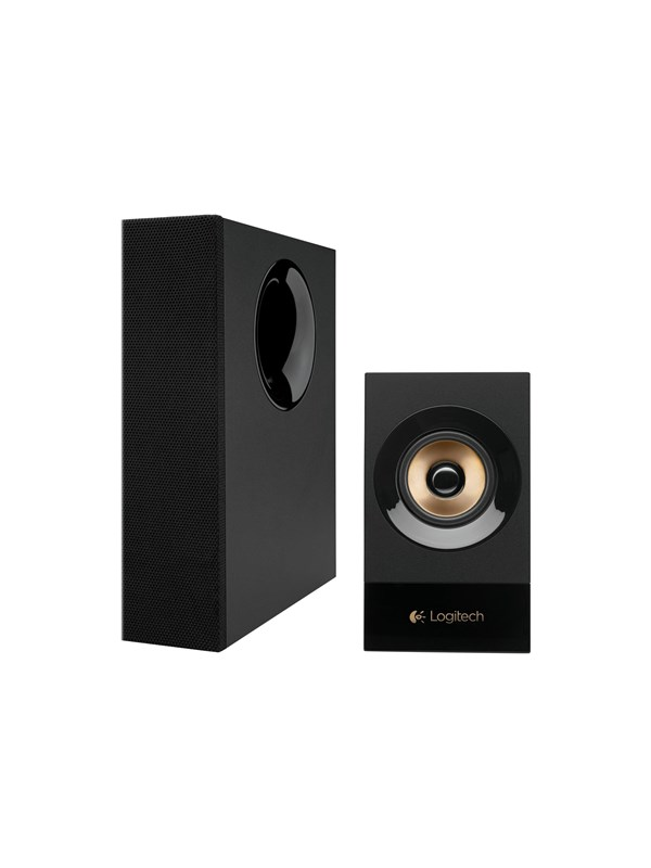 Image of   Logitech Z533 - speaker system - for PC - UK - 2.1 Kanal - Sort