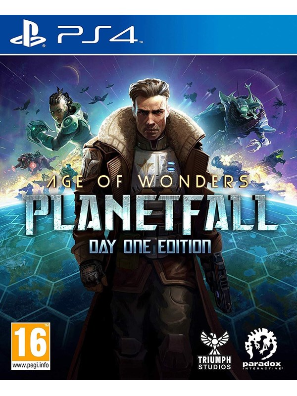 Image of   Age of Wonders: Planetfall (Day1 Edition) - Sony PlayStation 4 - Strategi
