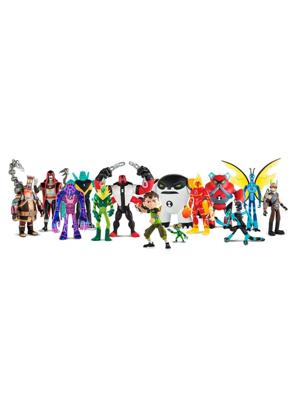 Image of   Ben 10 Ben 10 Basis Figurer asst.