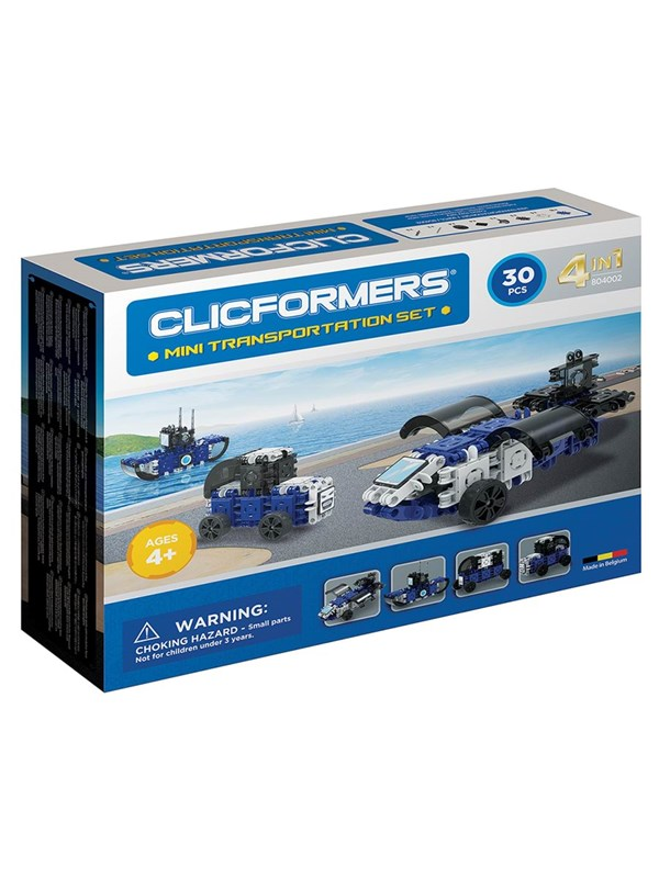 Image of   Clicformers Clicformers Mini Transport Sæt 30