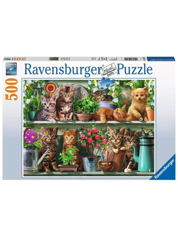 Ravensburger Cats on the Shelf 500p