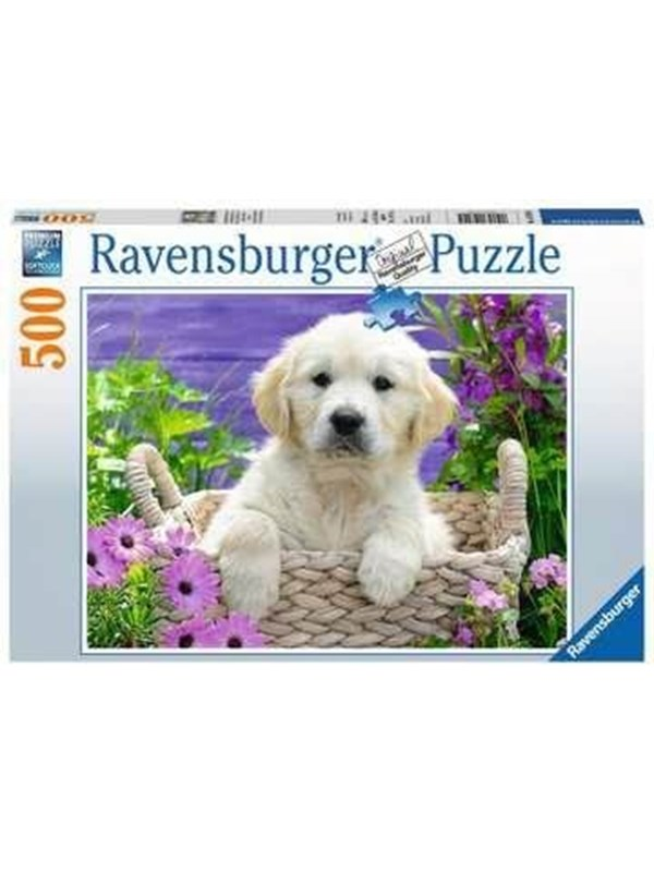 Ravensburger Sweet Golden Retriever 500p