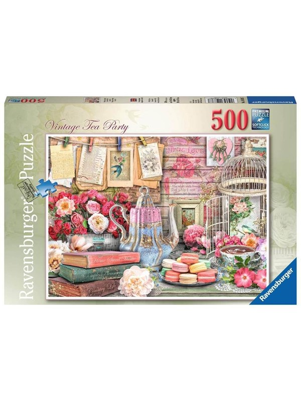 Ravensburger Vintage Tea Party 500p