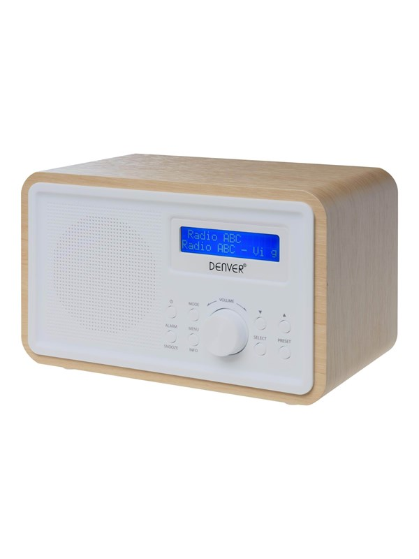 Image of   DENVER Bærbar radio DAB-35 - DAB portable radio - Sort