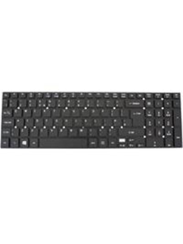 Image of   Acer - notebook replacement keyboard - UK - black - Bærbar tastatur - til udskiftning - Sort