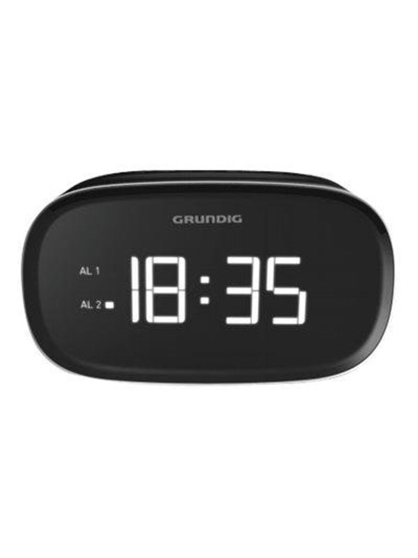 Image of   Grundig Bærbar radio SONOCLOCK 3000 - AM/FM - Sort