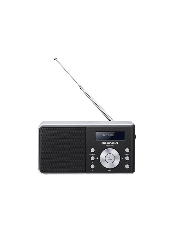 Image of   Grundig Bærbar radio Music 6000 DAB+ - Mono - Sort