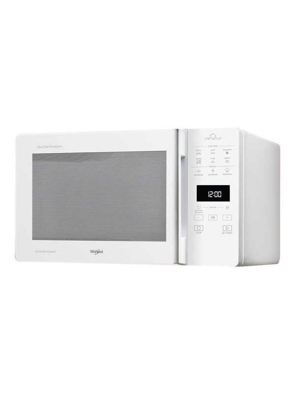 Whirlpool MCP349WH - microwave oven with convection and grill - freestanding - white