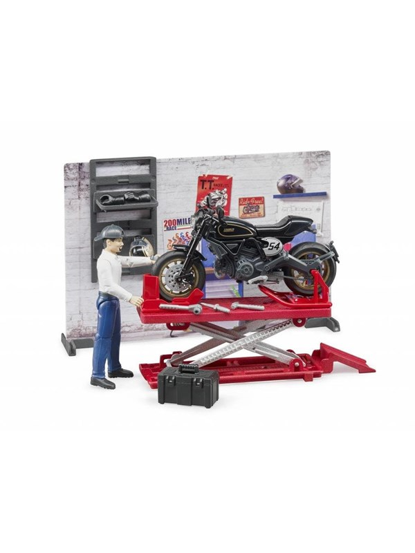 Image of   Bruder Bworld Motorcycle service