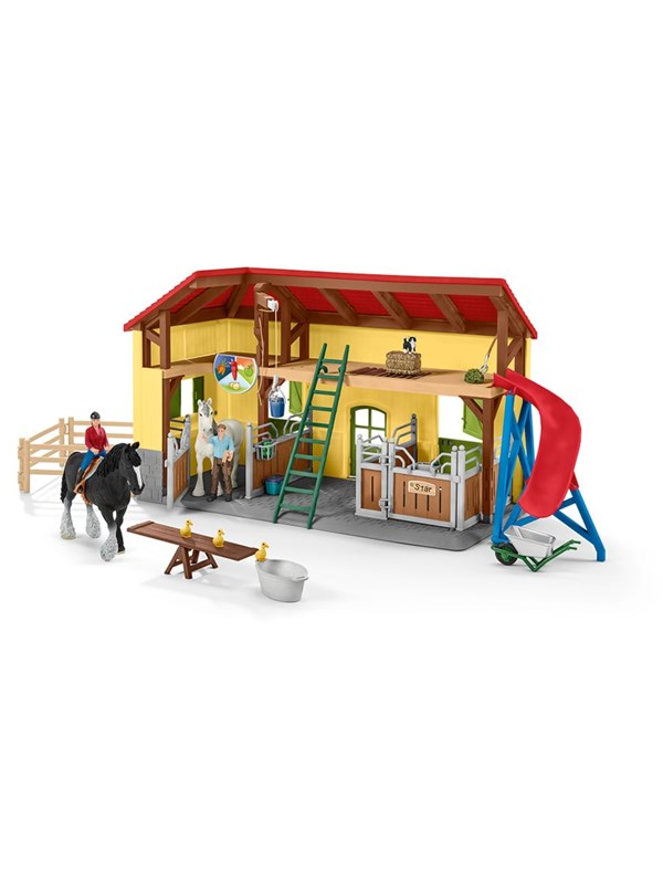 Image of   Schleich Farm World Horse stable
