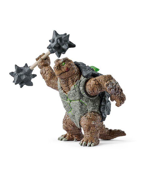 Image of   Schleich Armoured Turtle With Weapon