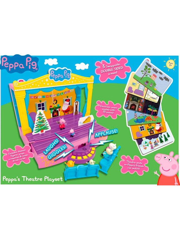 Image of   Peppa Pig s Stage playset