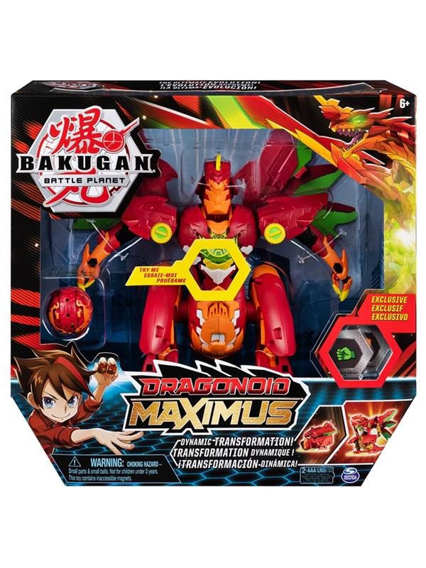 Image of   Bakugan Dragonoid Maximus