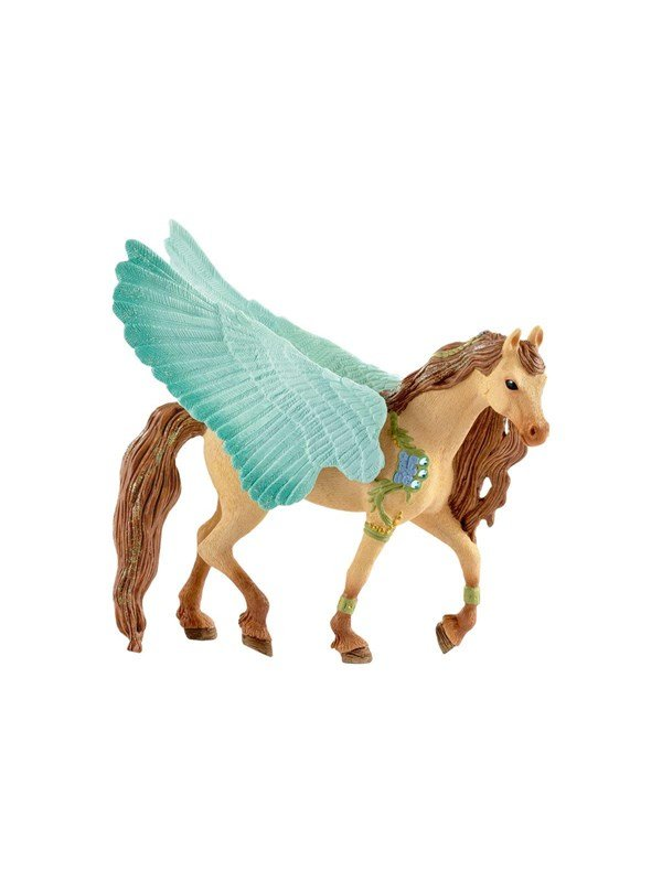 Image of   Schleich Decorated Pegasus stallion