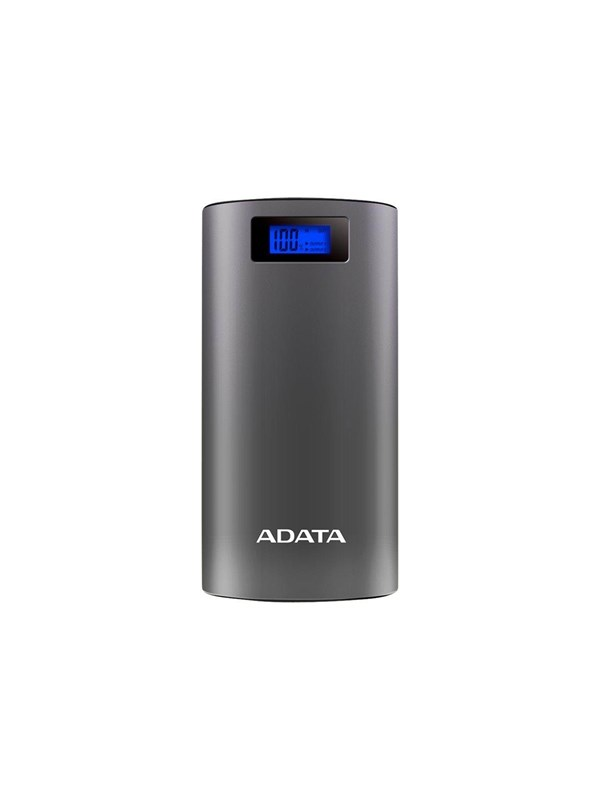 Image of   A-Data ADATA P20000D Powerbank - Grå -