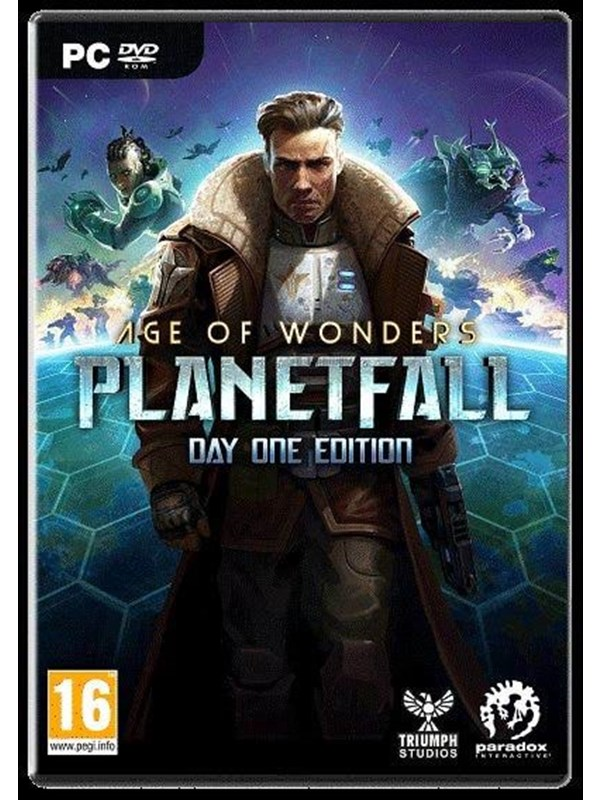 Image of   Age of Wonders: Planetfall - Windows - Strategi