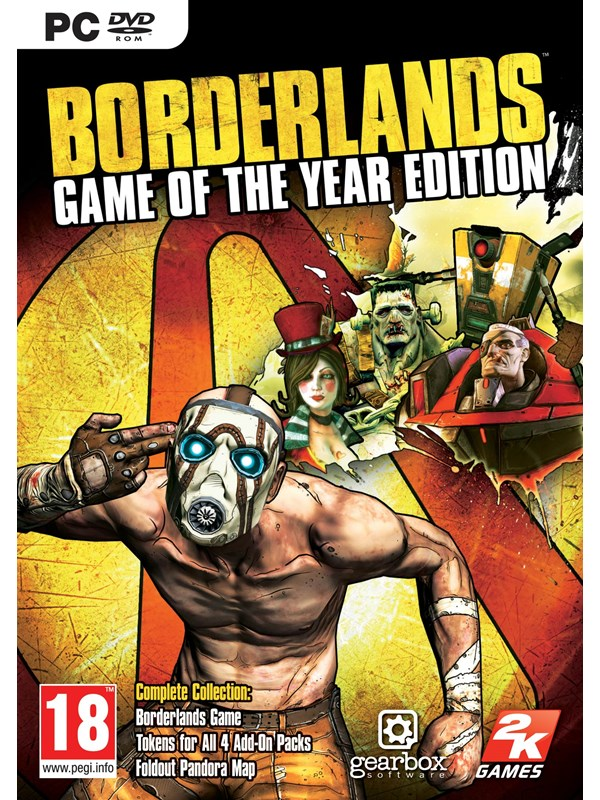Image of   Borderlands: Game of the Year - Enhanced - Windows - FPS
