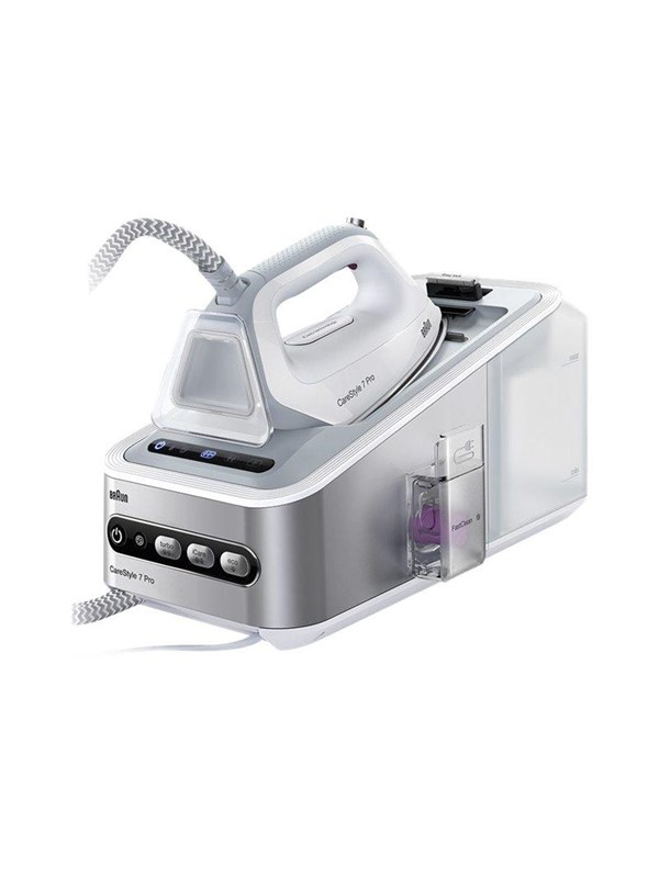 Image of   Braun Dampstrygejern CareStyle 7 Pro IS7155 WH -