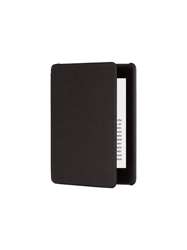 Image of   Amazon Kindle Cover Black Leather Paperwhite 2018