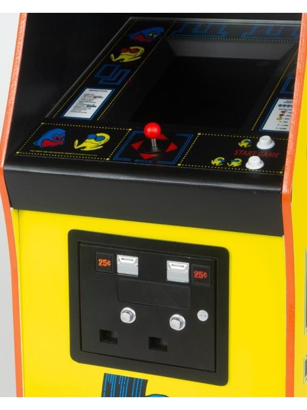 Image of   Bandai Namco Pac Man 1/4th Scale Arcade Cabinet - Collectors Edition