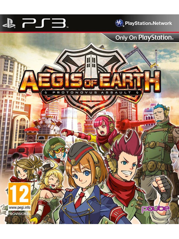 Image of   Aegis of Earth: Protonovus Assault - Sony PlayStation 3 - RPG
