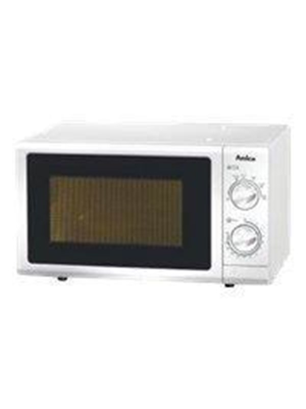 Image of   Amica MW 13150 W - microwave oven - freestanding - white