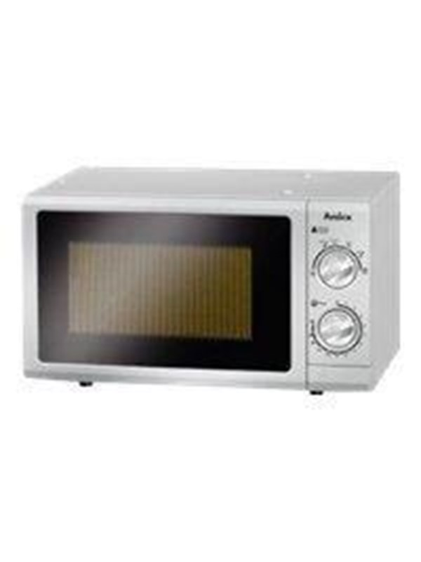 Image of   Amica MW 13152 SI - microwave oven - freestanding - silver