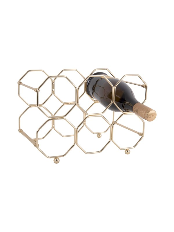 Image of   Columbine Honeycomb Wine Rack