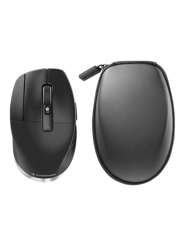 Image of   3Dconnexion CadMouse Pro Wireless - Mus - 7 knapper - Sort
