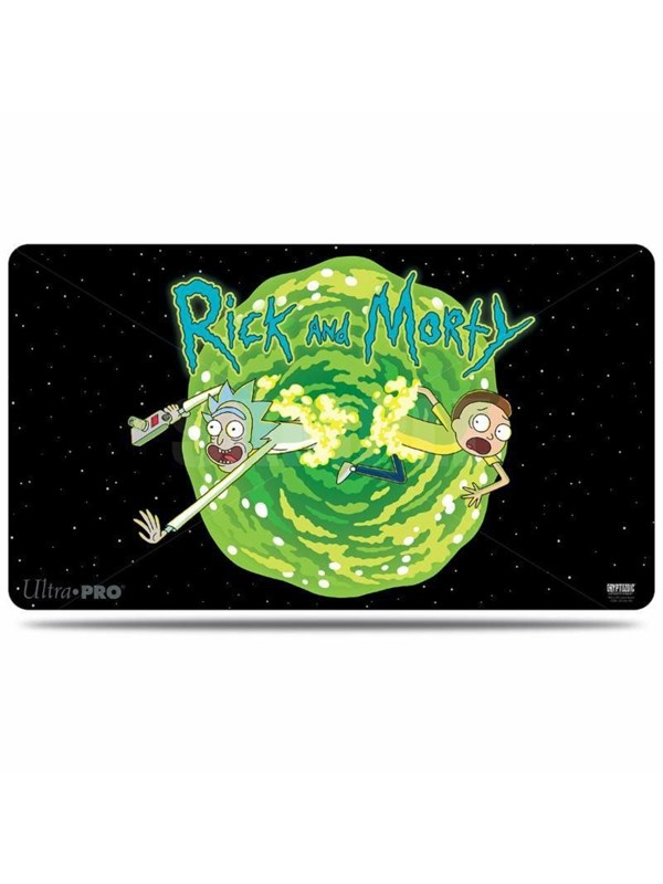 Image of   Enigma Rick and Morty - Playmat - Portal