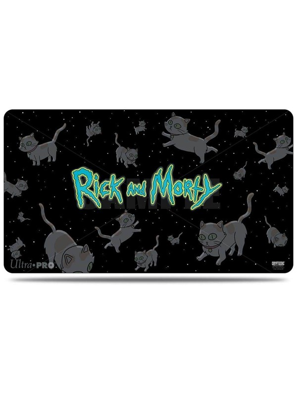 Image of   Enigma Rick and Morty - Playmat - Cats