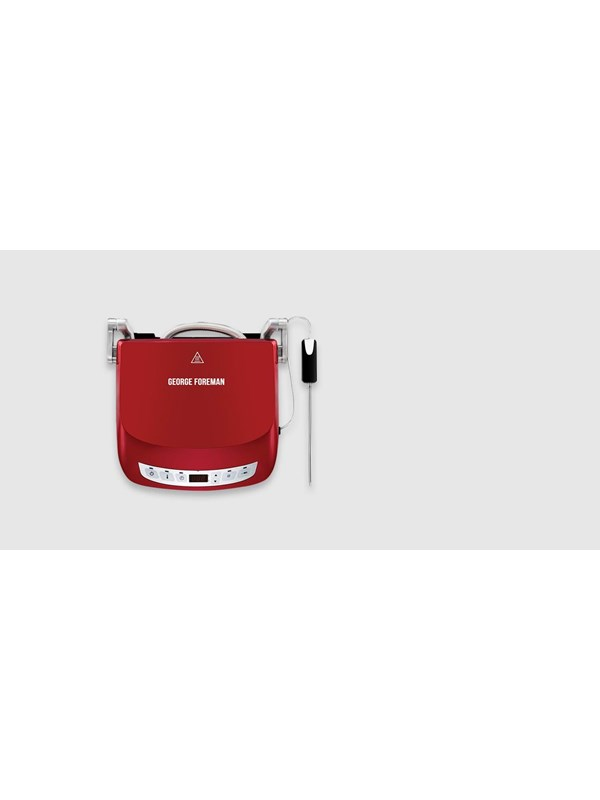 Image of   George Foreman Evolve Precision Grill Red