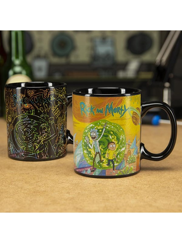 Image of   Paladone Product Rick and Morty - Portals Mug (Heat Change)