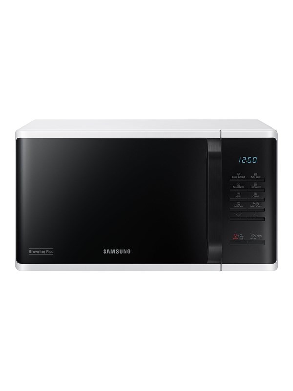 Image of   Samsung MG23K3513AW - microwave oven with grill - freestanding - white