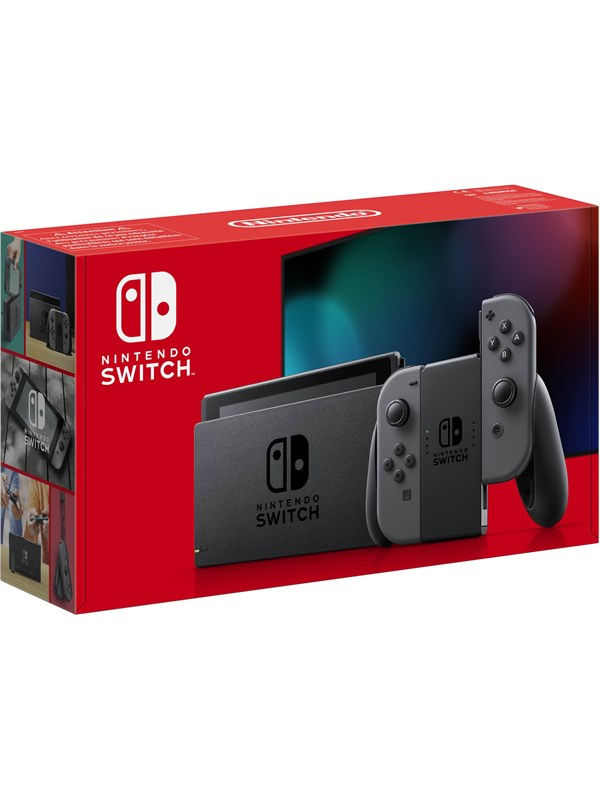Billede af Nintendo Switch With Joy-Con - Grey (New revised model)