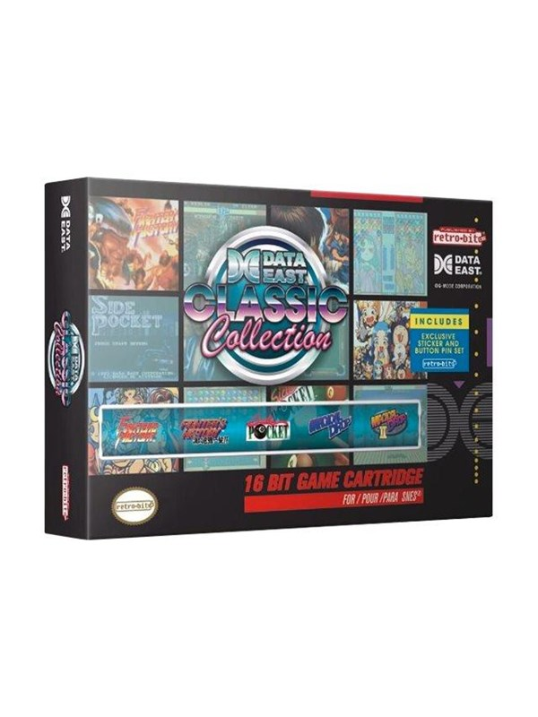 Image of   Retro-bit Data East Classic Collection