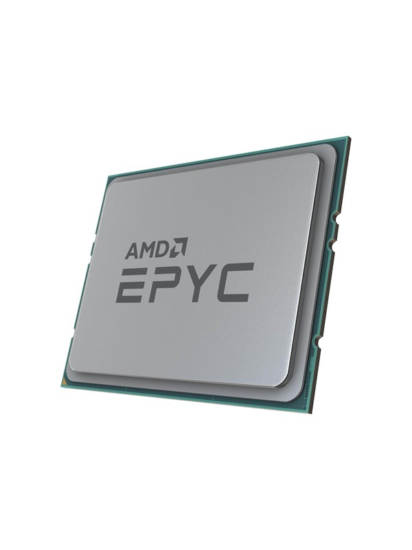 Image of   AMD EPYC 7742 / 2.25 GHz processor CPU - 64 kerner 2.2 GHz - AMD SP3 - Bulk (ingen køler)