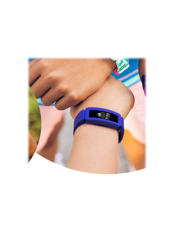 Image of   Fitbit Ace 2 activity tracker with band - night sky/neon yellow